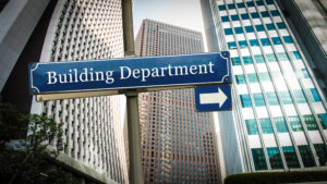 building department for building permit