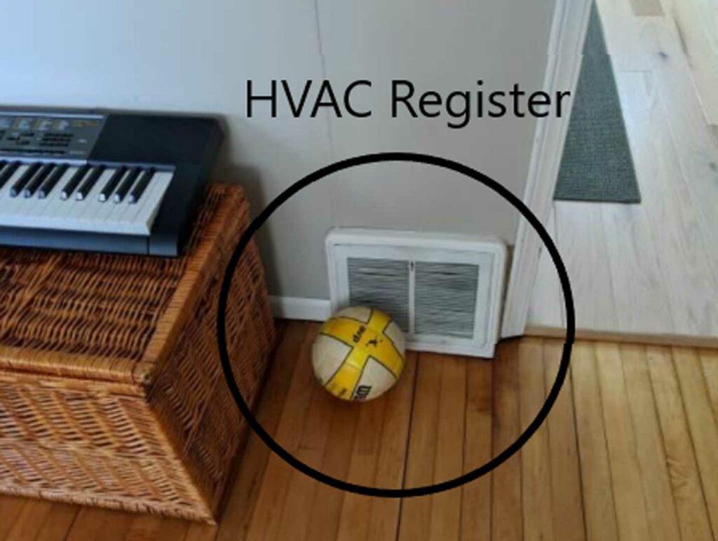 HVAC register