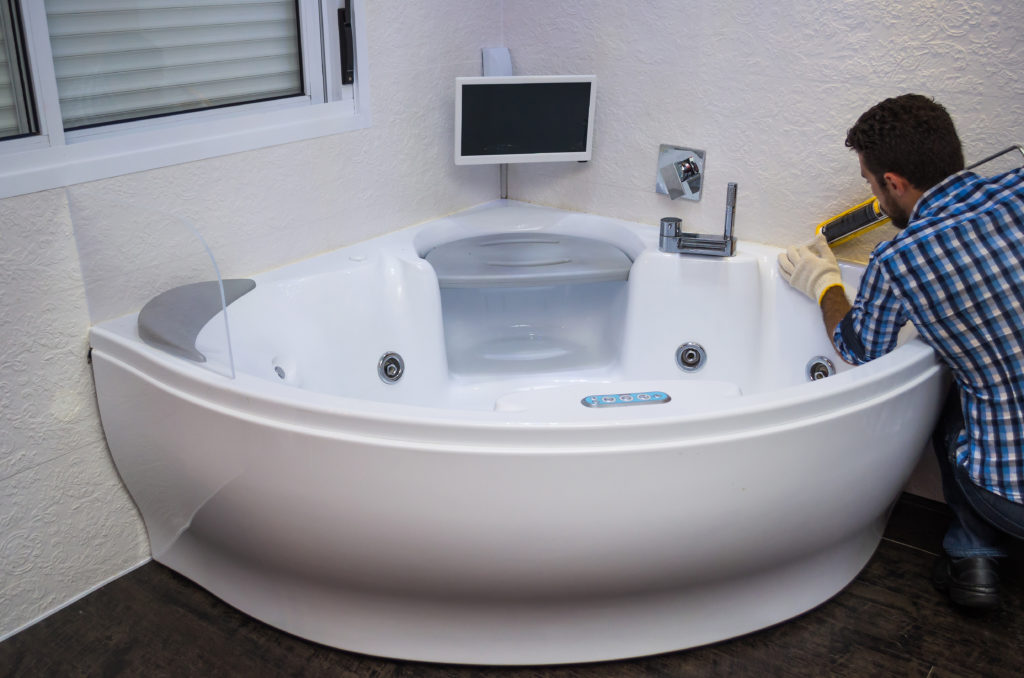 installing whirlpool tub may require structural engineering