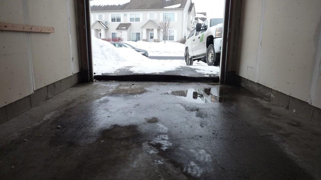 Garage Apron Failure